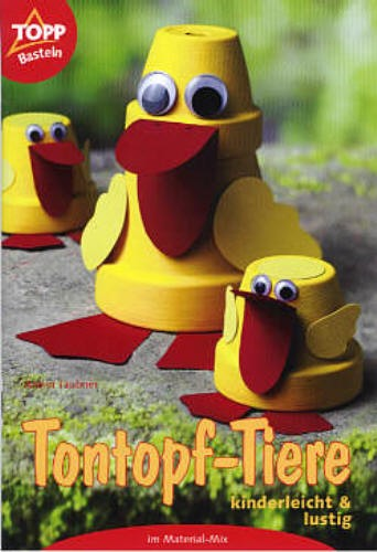 Buch Tontopf-Tiere kinderleicht und lustig