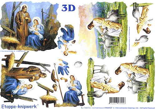 3D Bogen Christus