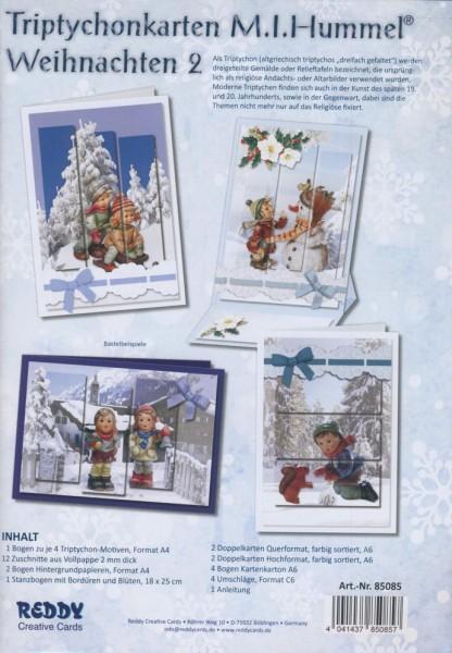 Set Triptychonkarten M.I. Hummel Weihnachten 2