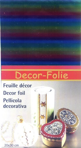 Regenbogen-Folie 12x20cm