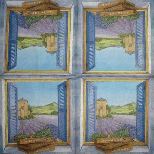 Serviette Fenster 3