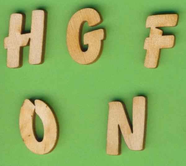 Holzbuchstaben 19mm