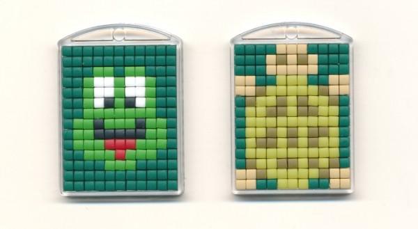 Pixelhobby Set Medaillon Frosch-Schildkröte