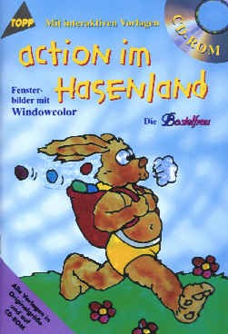 Buch Action im Hasenland (mit CD)