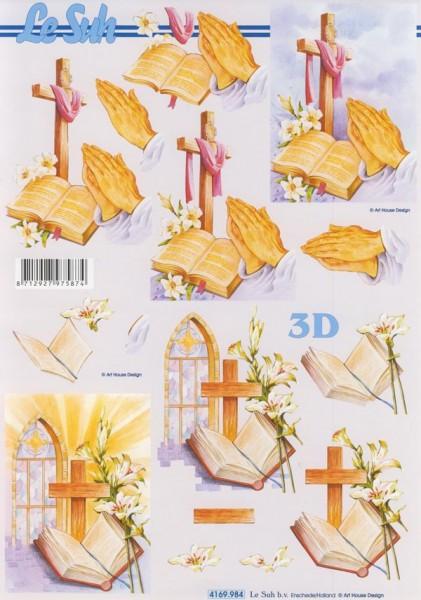 3D Motivbogen Gebet II