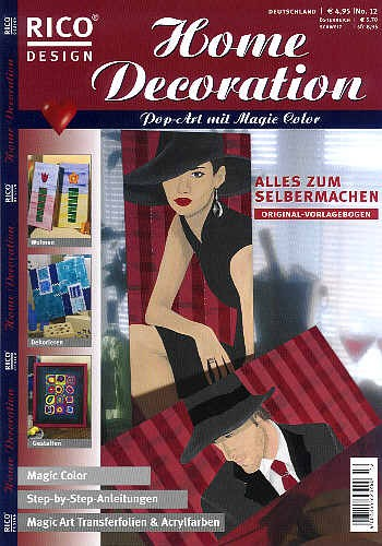 Buch Home Decoration Pop-Art