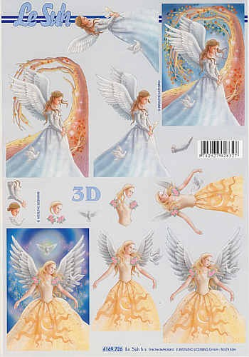3D Bogen Engel III