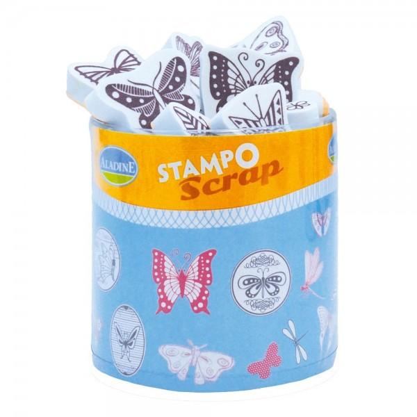 4550308_Stampo-Scrap-Stempelset-Schmetterlinge