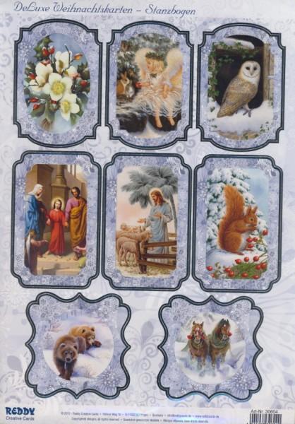 30604_Stanzbogen-Weihnachten-Tiere-Krippe
