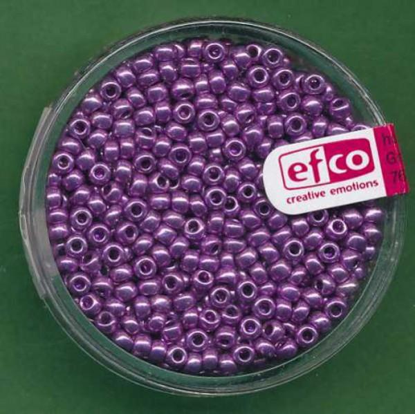 Rocailles 2,6mm metallic lila