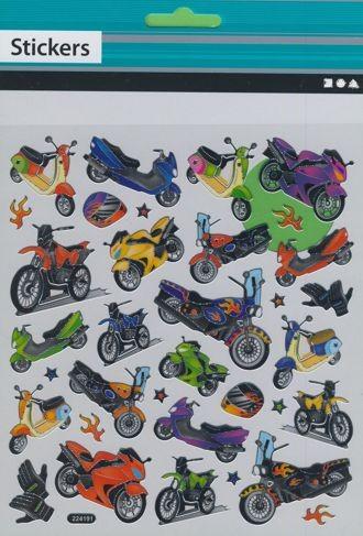 Fancy Sticker Motorräder