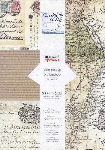 Scrapbook-Set Weltreise