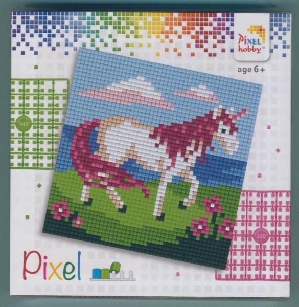 px44012_Pixelset-4-kleine-Basisplatten-Einhorn