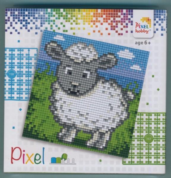 px44008_Pixelset-4-kleine-Basisplatten-Schaf