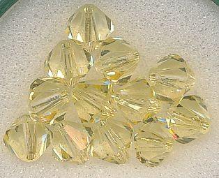 Swarovski Glasschliffperlen 6mm jonquil