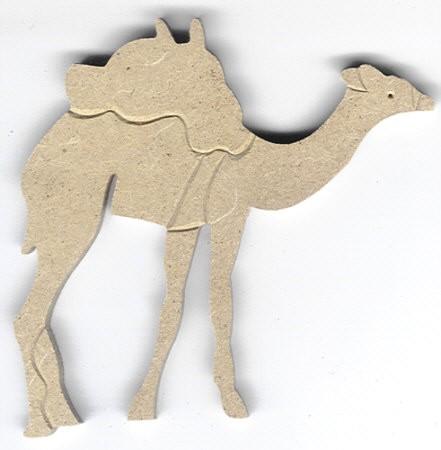 Holz-Dekor Kamel