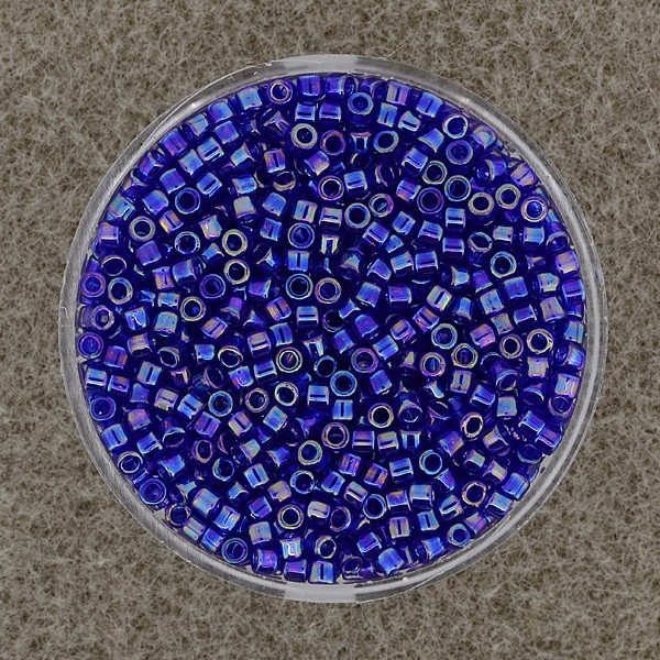 Delica Beads 2,2mm cobalt blue AB