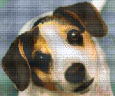 806146 Pixelhobby Set Hündchen 5 mit 6 Platten