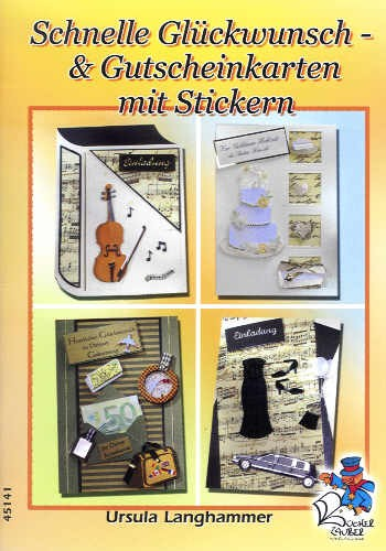 Buch Schnelle Glückwunsch- & Gutscheinkarten mit Stickern