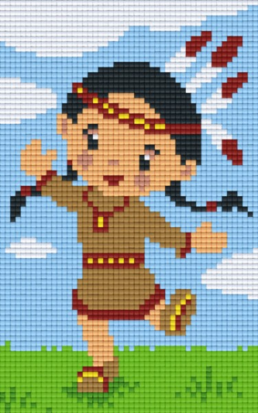 px802044_Pixelset-Indianerin