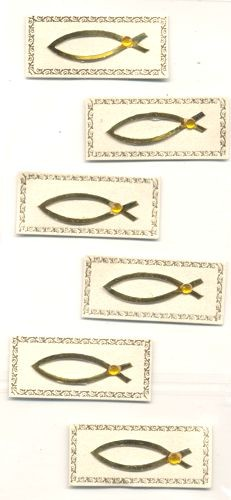 Creapop Sticker Fische gold