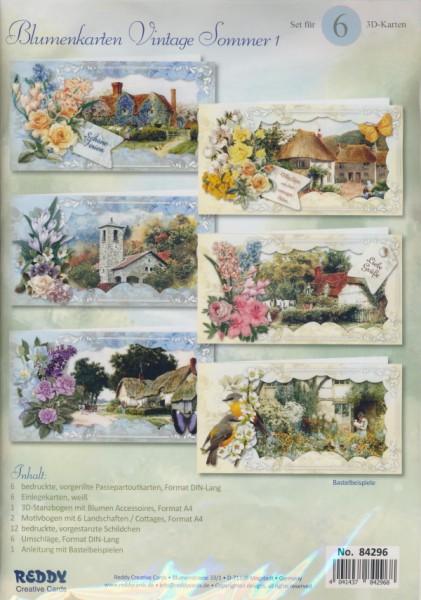 84296_Bastelset-Blumenkarten-Vintage-Sommer-1