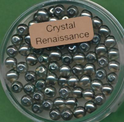 Crystal Renaissance 4mm grau