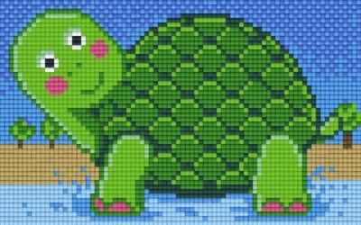 px802060_Pixelset-Schildkröte