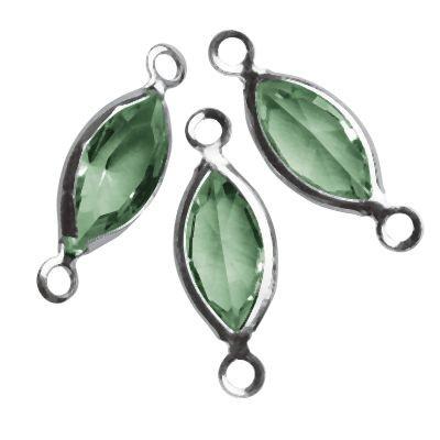 Swarovski Schmuck-Accessoires oval grün