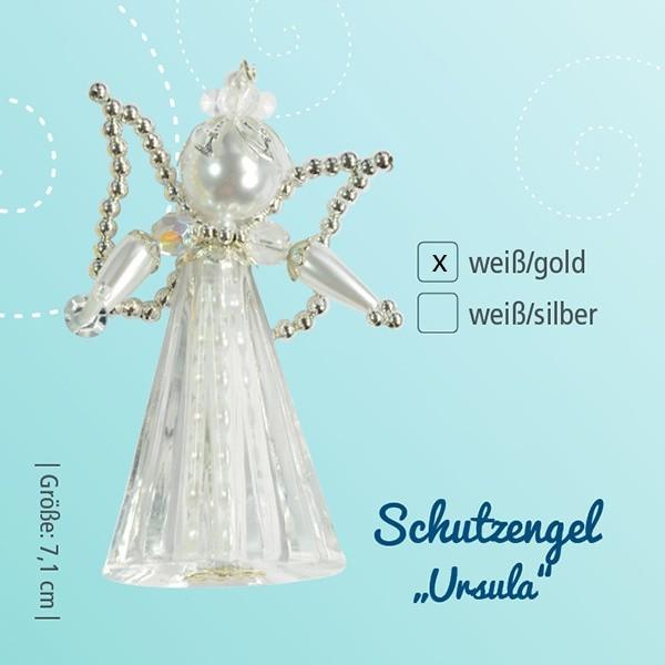 Bastelset Schutzengel Ursula weiß-gold