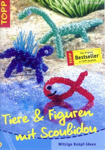 Buch Tiere und Figuren mit Scoubidou