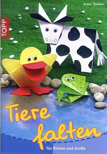 Buch Tiere falten für Kleine und Große