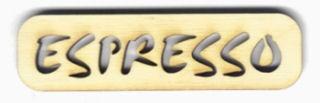Holz-Schritzug Espresso