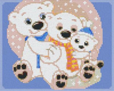 px804189_Pixelset-Eisbärenfamilie