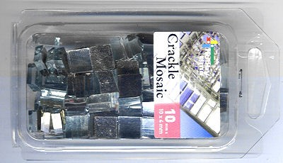 Crackle Mosaic spiegel