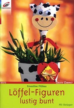Buch Löffel-Figuren lustig bunt