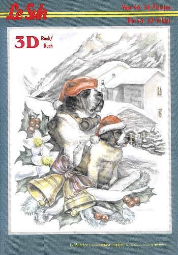 3D Motivbuch Winterweihnacht