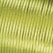 Satinkordel hellgrün 2mm lfd. Meter