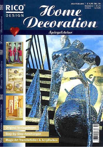 Buch Home Decoration Spiegelsteine