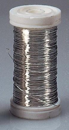 Kupferdraht versilbert 0,4mm 90m