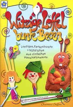 Buch Witzige Löffel bunte Besen