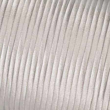 Satinkordel weiß 2mm lfd. Meter