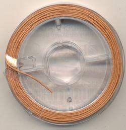 Schmuckkordel hellbraun 0,8mm 10m