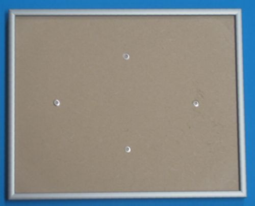 Rahmen silber 31,3 x 38,9cm
