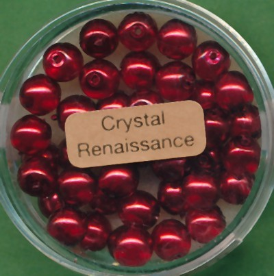 Crystal Renaissance 6mm rot