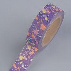 Creative Tape Kleckse violett 15mmx10m
