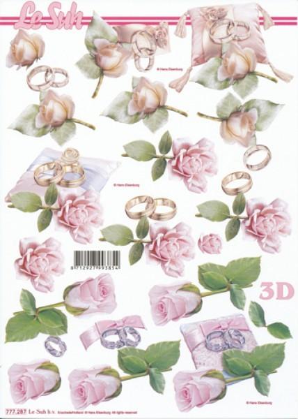 Motivbogen Rosen, Ringe II