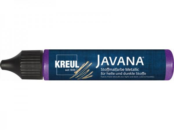 Javana Stoffmalfarbe Metallic 29ml Pen