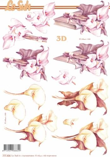 3D Motivbogen Calla 2