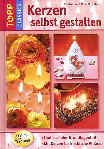 Buch Kerzen selbst gestalten